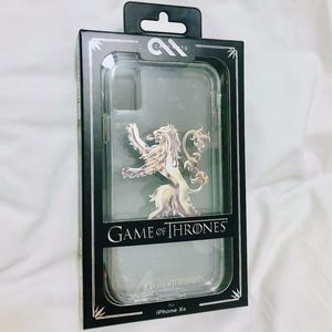 NEW Game of Thrones Lannister Lion iPhone XR Case